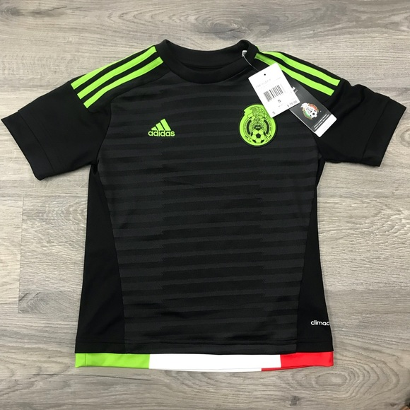 de6a58796aa Kid Mexico Soccer Jersey World Cup Adidas
